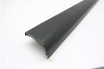 Running Boards black rubber mats left