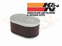 K&N Filter oval. 83mm height