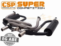 CSP Super Competition Exhaust