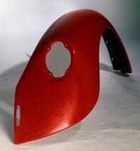 Kerscher spatbord achteraan (grote achterlichten) + 2cm