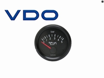 VDO Oliedrukmeter 52mm 0-10 Bar