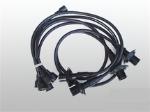 Ignition Wire Set black for Type-2/4 17-2000