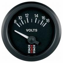 Stack Battery Voltmeter Gauge