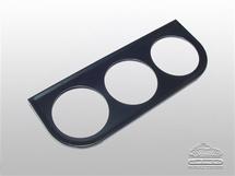 Montageplaatje voor 3  instrumenten 52mm