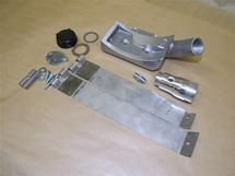 Alternator stand with oil filler