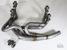 Racing header stainless for Type 4 engine