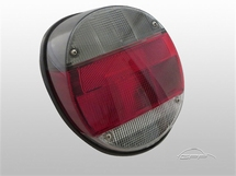 Tail lights, 8.72-, black/red